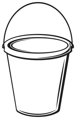 bushel: bucket with handle