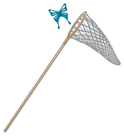 entomologist: butterfly net  butterfly and net, net for butterflies
