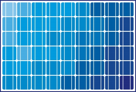solar panel  solar cell  Stock Vector - 23476434