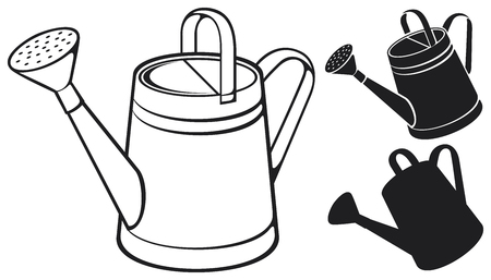 spout: watering can