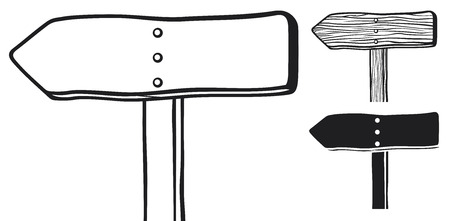 pancarte bois: bois signe vecteur enseigne, panneau de bois, panneau de bois vierge
