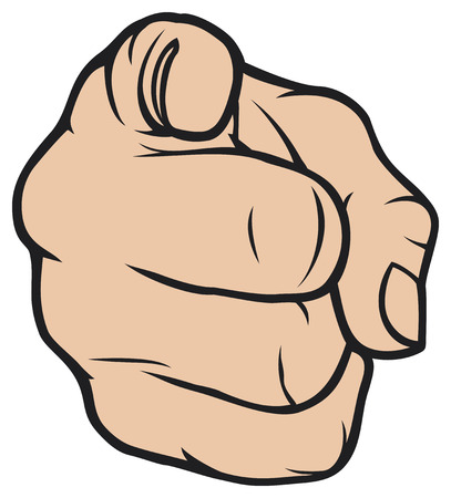 forefinger: hand pointing  finger pointing, hand pointing at viewer