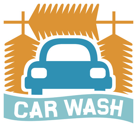 service car: car wash sign  car wash icon, car wash symbol