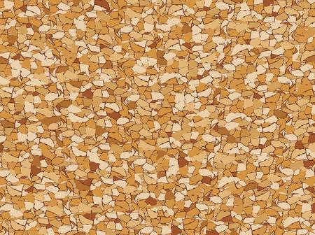 pitted: cork seamless pattern  cork board background  Illustration