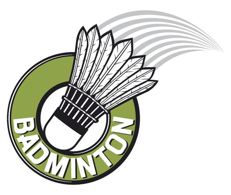 badminton label  badminton sign