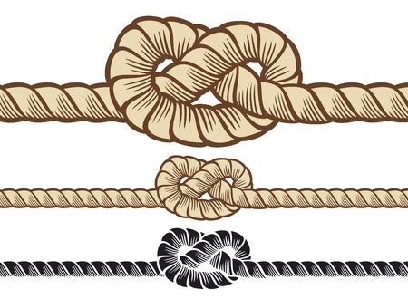 rope knot: rope knot