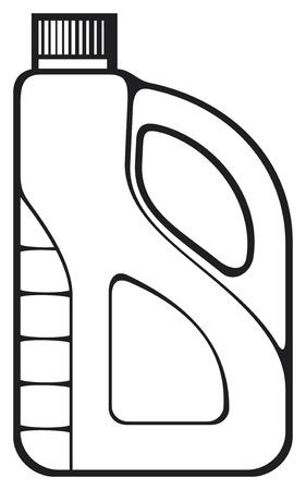 emulsifier: oil can Illustration