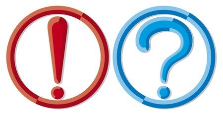 point d interrogation: le point d'exclamation et d'interrogation