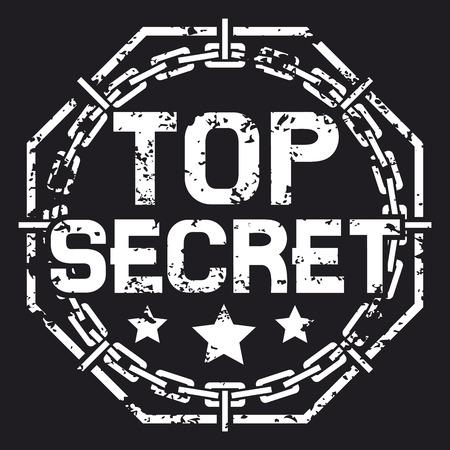 top secret stamp (top secret sign)