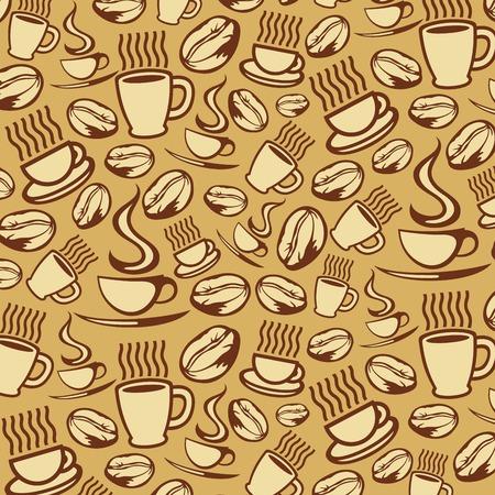 vivacity: coffee background (coffee seamless background)