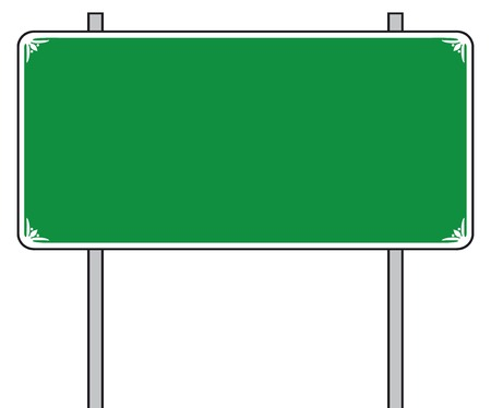 directional sign: traffic road sign (street sign, road sign)