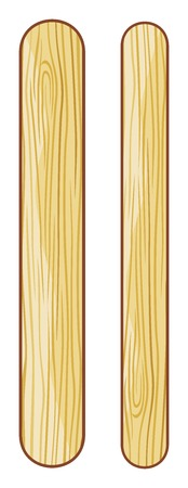 chock: wooden ice cream sticks ice lolly sticks