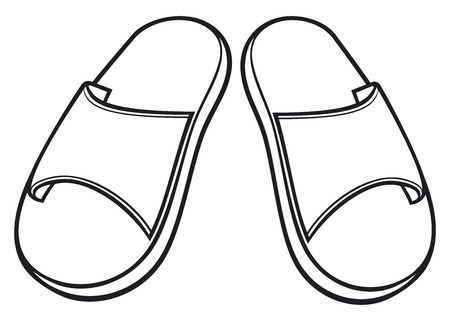 thong: flip flops set slippers