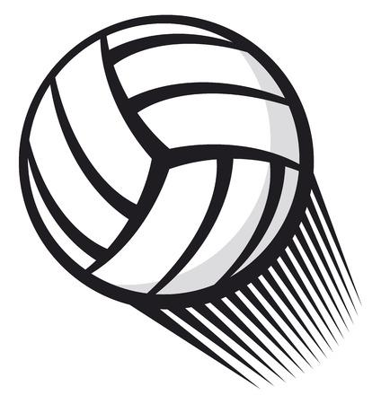 volleyball team: volleyball ball
