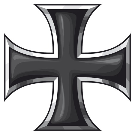 iron cross Иллюстрация