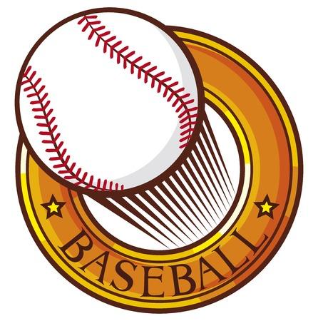 baseball club emblem label design symbol sign Vector