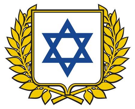 david star - israel design emblem, sign, design