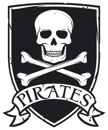 pirate flag: pirate symbol emblem coat of arms