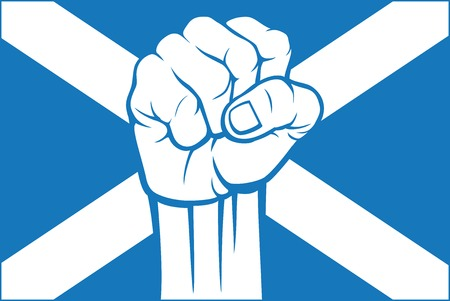 scotland flag: scotland flag Illustration