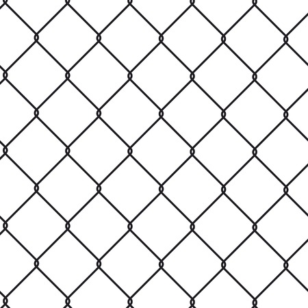 Wire fence Stock Illustratie