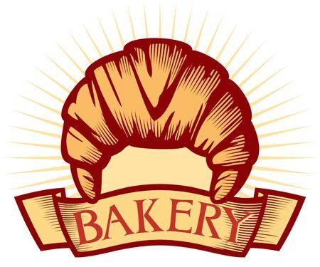 stuffing: bakery label bakery symbol