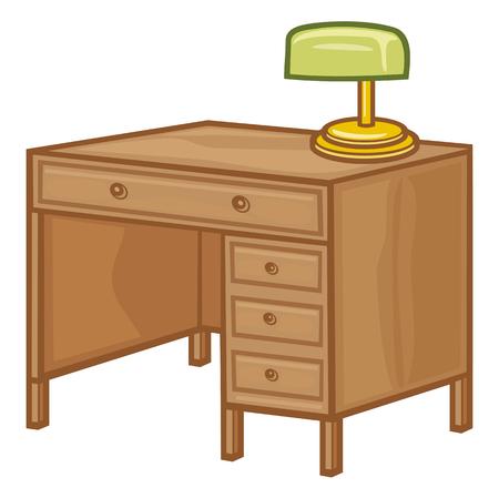 desk: office desk