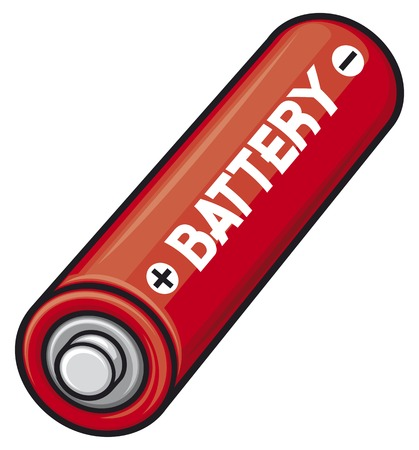 gasoline powered: AA batteries