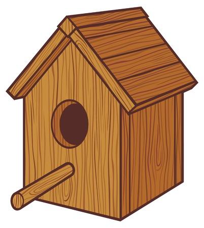 nido de pajaros: caja de nido pajarera, pajarera