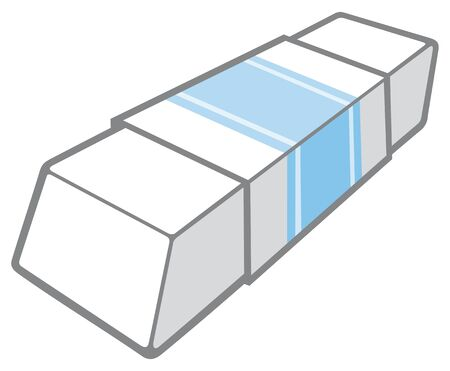 residue: eraser vector illustration Illustration