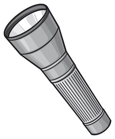 flashlight: flashlight vector illustration Illustration