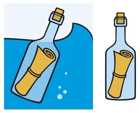 castaway: message in a bottle letter in a bottle