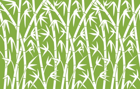 bamboo: background with green bamboo stems bamboo vector illustration,