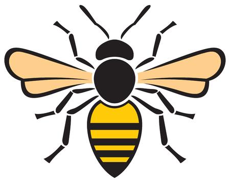 bijen pictogram honingbij