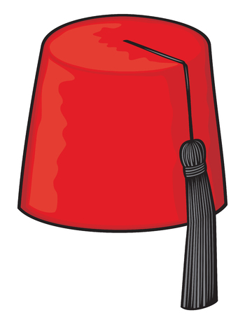 traditional costume: red fez fez hat