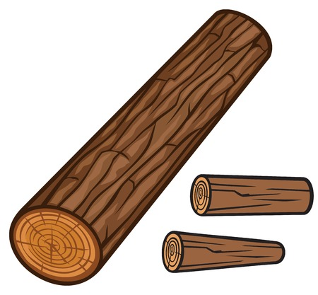 wooden log Illustration