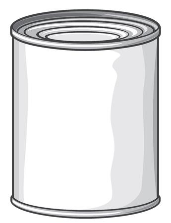 hermetic: food tin can metal tin can