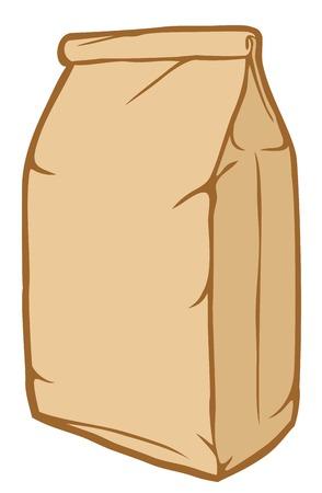 coffee sack: paper bag packaging