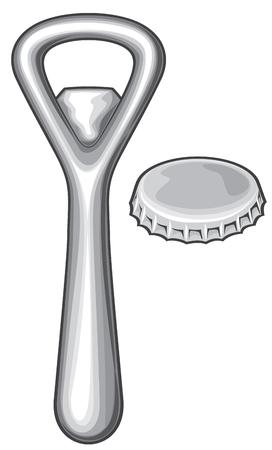 caps: bottle opener and cap bottle bap