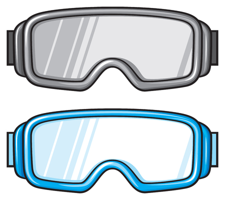 holidaying: ski goggles winter sport glasses