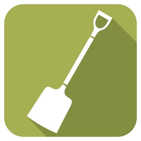 sturdy: shovel flat icon