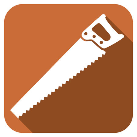 handsaw: Hand saw  flat icon