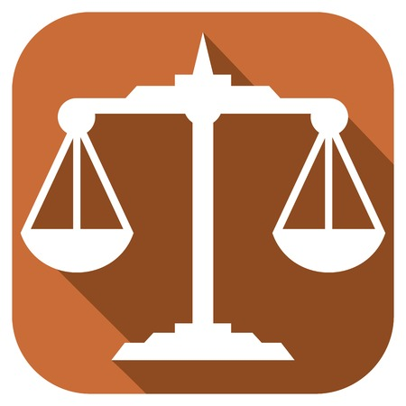 acquittal: scales flat icon scales zodiac sign