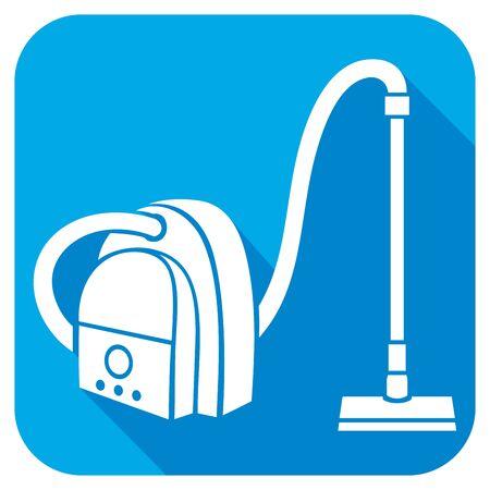 carpet clean: vacuum cleaner flat icon