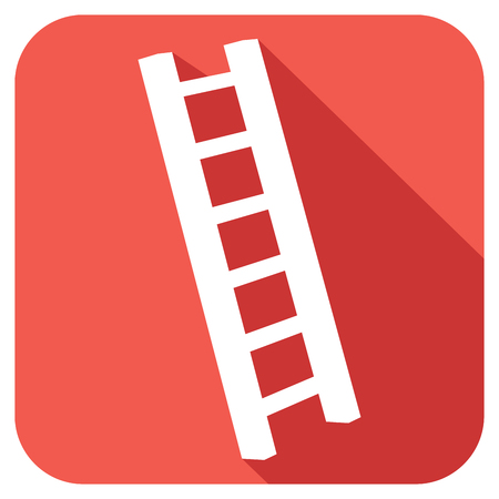 clambering: ladder flat icon