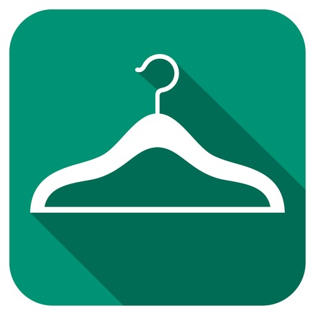 hangers: clothes hangers flat icon