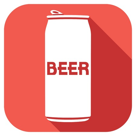 beer can: beer can flat icon