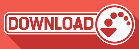downloaden flat icon