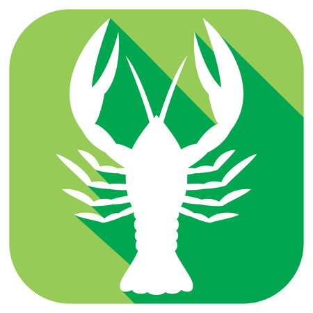 palatable: crawfish flat icon crawfish zodiac sign