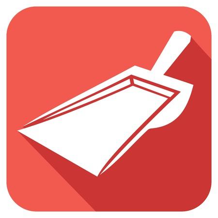 grime: dustpan flat icon