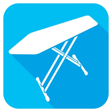 drudgery: ironing board flat icon Illustration